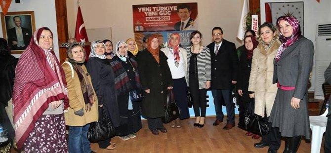 Ak Parti Beypazarı Kadın Kolları Elif  ERTÜRK'le Yola Devam Edecek