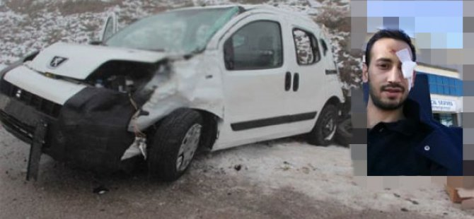 Beypazarı'nda Meydana gelen trafik kazasında bir kişi yaralandı.