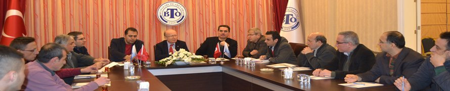 BTO Mali Müşavirlerle Ticaret Sicili İstişare Toplantısı yaptı