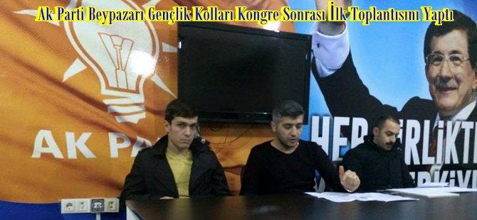 Ak Parti Beypazarı Gençlik Kolları kongre sonrası ilk toplantısını yaptı