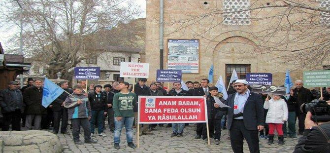 Beypazarı ADG Derneğinden Protesto
