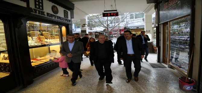 İçişleri Bakanlığı Müsteşarı Sebahattin Öztürk hafta sonu gezi amaçlı Beypazarı'nı ziyaret etti.