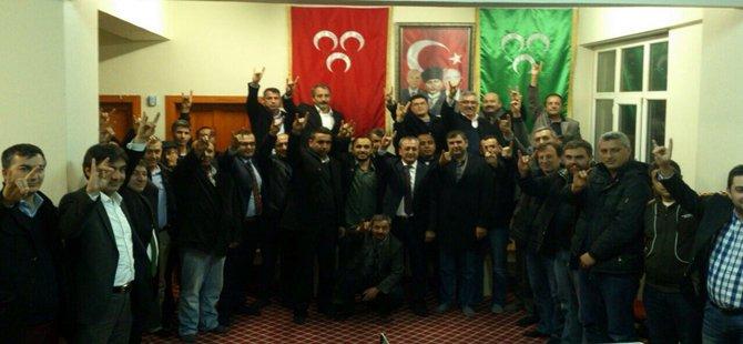 MHP Beypazarı İlçe Teşkilatına Hayırlı Olsun Ziyareti