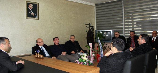 BTO Yönetim Kurulu Ziraat Odasını Ziyaret Etti
