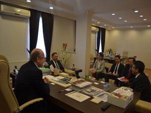BTO Ziraat Bankası Bölge heyeti ziyareti