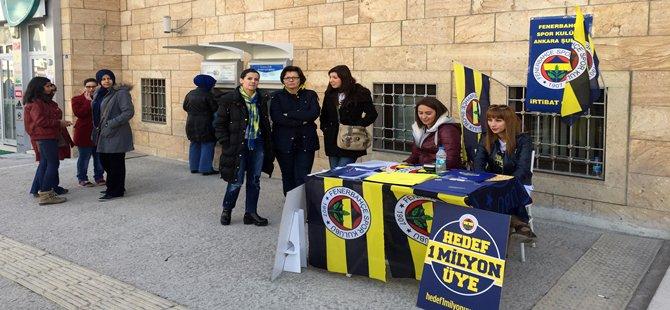 Fener Bahçe Spor Kulübünün ''Hedef 1 Milyon Üye'' Kampanyası Tanıtımı İçin Beypazarına Geldi