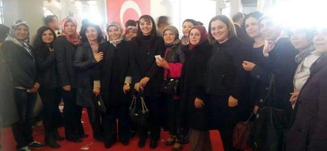 Beypazarı AK Parti Teşkilatı Ankara'da Temayül Yoklamasına Tam Kadro Gitti