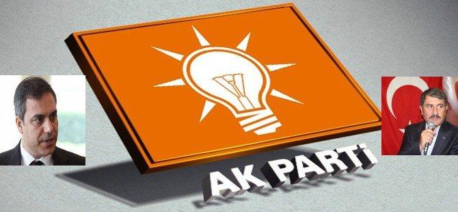 AK Parti'nin 1.ve 2. Bölge Birincileri Hakan FİDAN, Ayhan YILMAZ