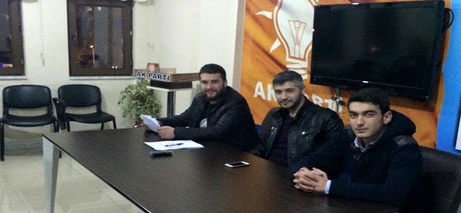 Ak Parti Beypazarı Gençlik Kolları Haftalık Olağan Y.K Toplantısını Yaptı