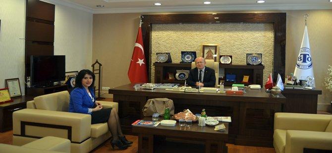 Beypazarı Cumhuriyet Başsavcısı Meltem MEMİŞ  BTO Ziyaret Etti