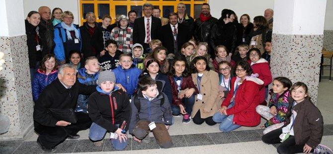 Avrupanın çeşitli ülkelerinden gelen öğrenci ve öğretmenler Beypazarı´nı ziyaret etti