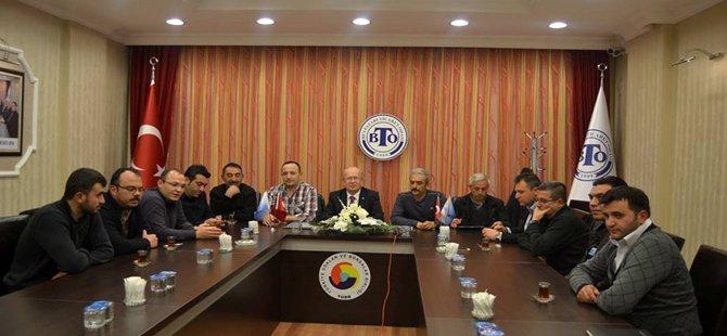 Beypazarı Ticaret Odası Kuru imlatçıları İle Toplantı Yaptı