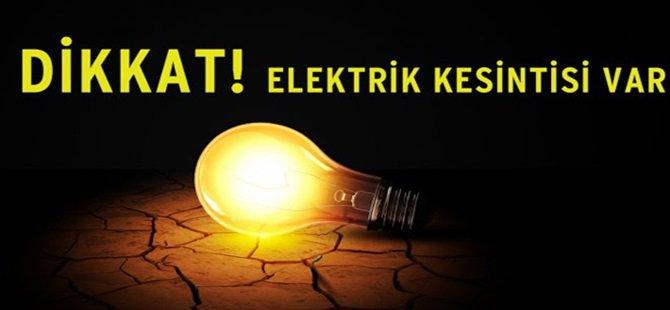 Beypazarı'nda 22 Mart 2015 Pazar günü  09:00 – 14:00 Saatlerinde Elektrikler Yok