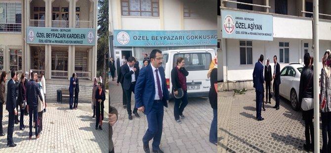 Ak Parti Teşkilat Başkanları ÇAKIROĞLU ve ERTÜRK Özel Eğitim ve rehabilitasyon Merkezlerini Ziyaret Ettiler