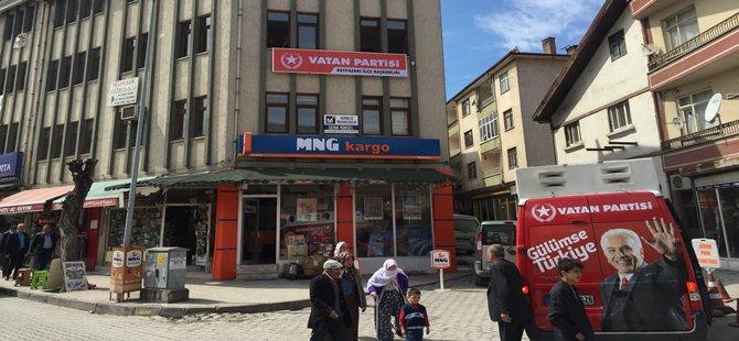 Vatan Partisi Beypazarı İlçe Teşkilatını Bugün Açtı