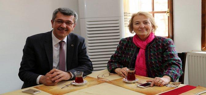 Beypazarı Belediye Başkanı Tuncer Kaplan önemli misafirlerini ağırlamaya devam ediyor.