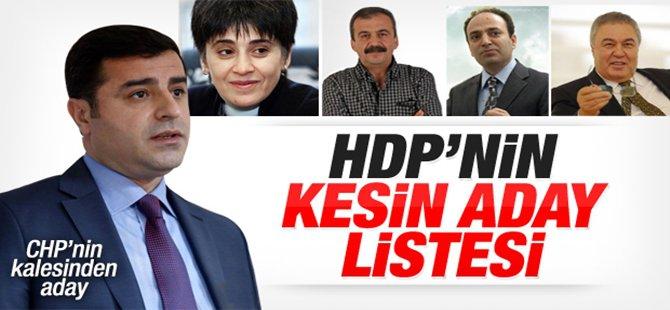 HDP'nin Ankara 1. ve 2. Bölge Milletvekili Adayları