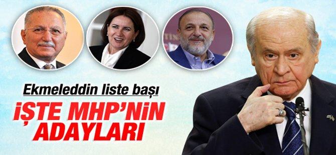 MHP Ankara 1. Bölge ve 2. Bölge Adayları