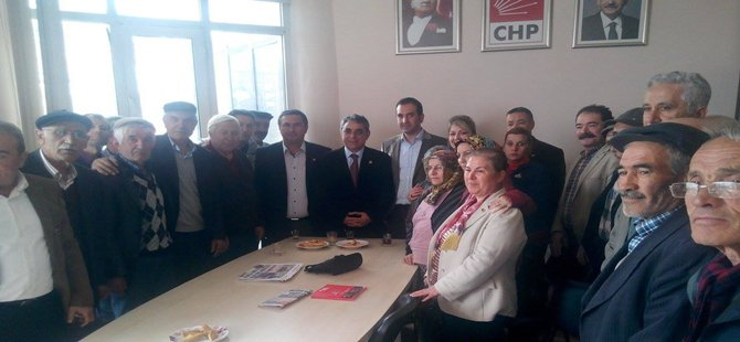 CHP Milletveli Adayı Prof.Dr. Ali Rıza Erbay'dan Beypazarı ilçe örgütüne teşekkür ziyareti