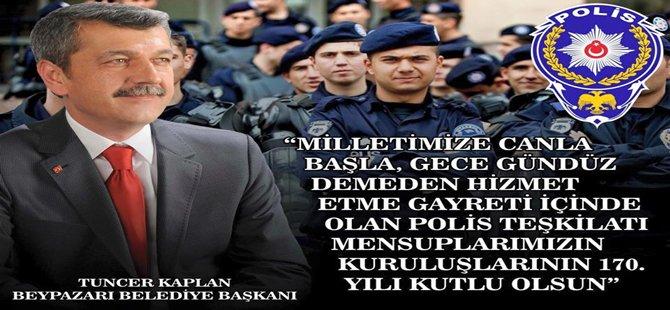 Beypazarı Belediye Başkanı Tuncer KAPLAN'ın Mesajı