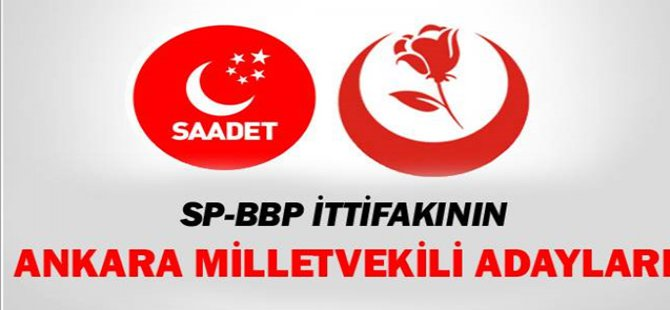 SP-BBP İttifakının Ankara Adayları Açıklandı