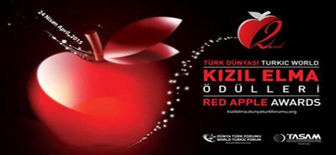"""Türk Dünyasına yönelik """"Kızıl Elma Ödülleri"""" ikinci kez sahiplerini buluyor."""