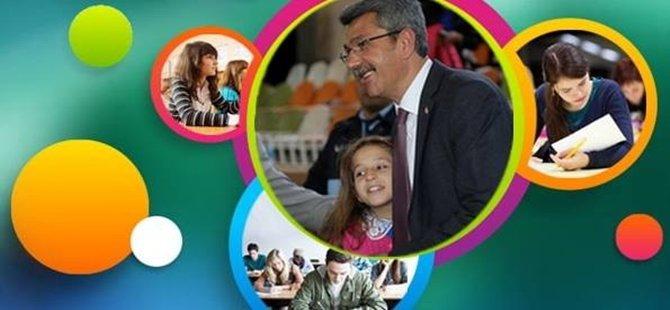 Başkan KAPLAN (TEOG) Sınavı'na girecek öğrencilere başarılar diledi.
