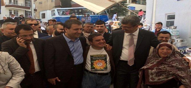 Ak Parti Milletvekili Adayı Ahmet Baba Beypazarını ziyaret etti