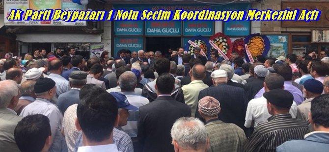 Ak Parti Beypazarı 1 Nolu SKM Açılışını Yaptı