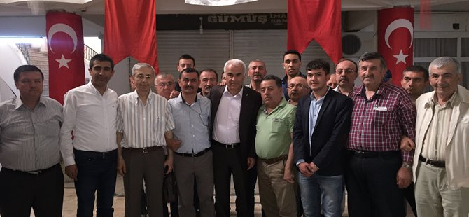 AK Parti Ankara 2. Bölge Milletvekili adayı Nevzat CEYLAN Beypazarı AHİD i Ziyaret Etti