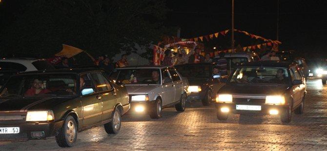 Galatasarayın Şampiyonluğu  Beypazarı'ndada Kutlandı