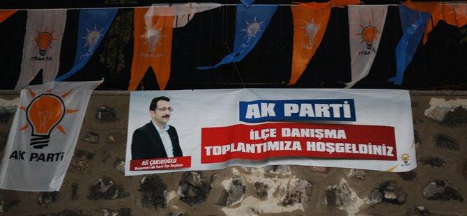 Ak Parti Beypazarı Mayıs ayı İlçe Danışma toplantısı ''Beypazarı Belediyesi Mustafa Cankara Kültür ve Konğre merkezi'' nde gerçekleştirildi
