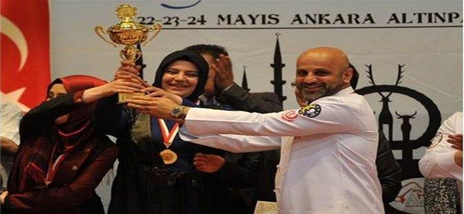1. Başkent Ulusal Aşçılar ve Pastacılar Şampiyonasında Beypazarı Derceye Giremedi
