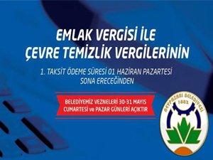 2015 Yılı Vergi Ödemelerinde Son Gün 1 Haziran