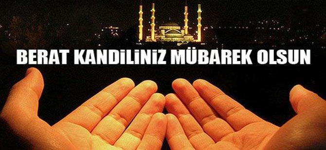 Tüm Türk İslam Aleminin Beraat Kandili Mübarek Olsun.