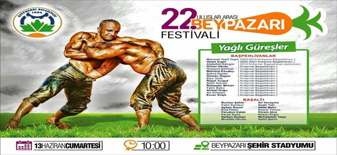 Beypazarı  22. si düzenlencek Uluslararası Beypazarı Festivali İçin Geri Sayım Başladı