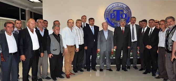 MHP Genel Başkan Yardımcısı, 2. Bölge Milletvekili Adayı Şefkat Çetin Beypazarını ziyaret etti.