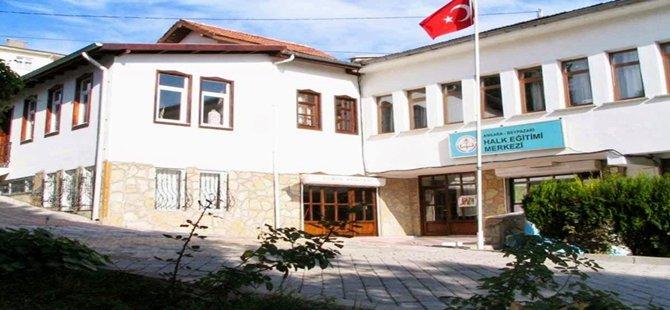 Beypazarı Halk Eğitim Merkezi Müdürlüğünün açtığı kurslarda, bu yıl 3 bin 645 kişiye eğitim verildi