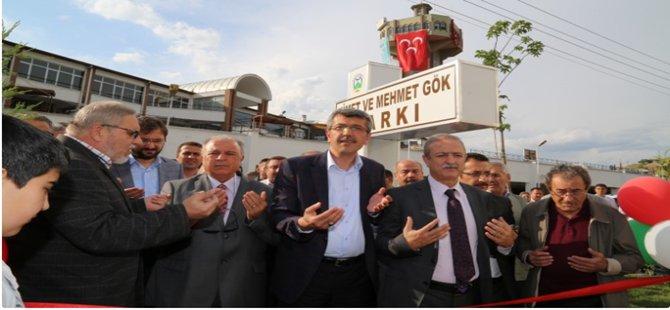 Beypazarı'nda Nimet ve Mehmet Gök Parkı Törenle Açıldı