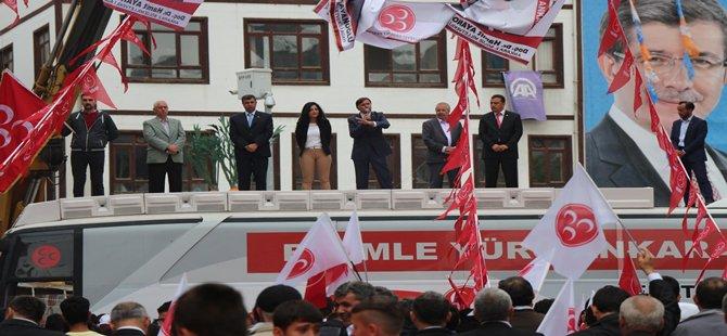 MHP Beypazarı'nda Bende Varım Dedi