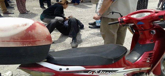 Beypazarı Oguzkent Mahallesinde Motorsiklet Kazası 1 Ağır Yaralı