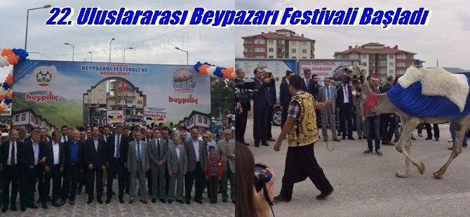 22. Uluslararası Beypazarı Festivali Başladı