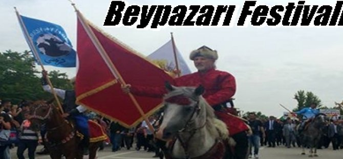 3 Gün Sürecek Beypazarı Festivali Başladı