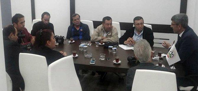 Başkan KAPLAN'ın Seçim Sonrası Basın İle İlk Buluşması