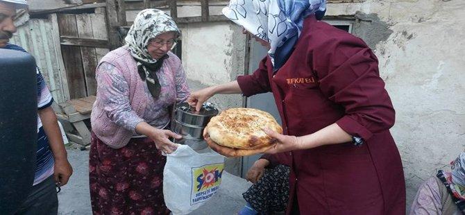 Beypazarı Belediyesinden Ramazanda Evlere Sıcak Yemek