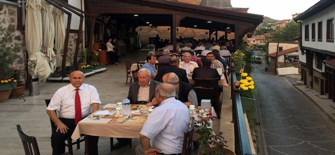 Beypazarı  Kent Konsey  Üyeleri Taşmektep'te İftar Yemeğinde Bir Araya Geldi.