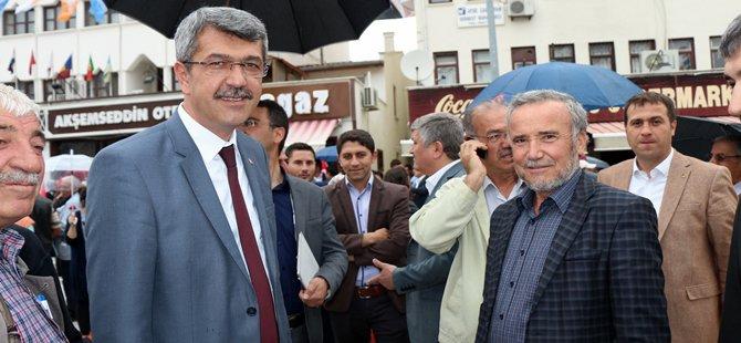 AK Parti Beypazarı İlçe Başkanlığı Görevine Mehmet YAYIN Getirildi.