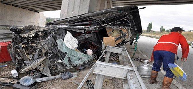 Trafik Kazası Akkaya'lı 19 Yaşındaki Sefa GÖK Hayatını Kaybetti