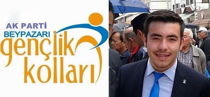 Ak Parti Beypazarı İlçe Gençlik Kolları Tanıtım & Medya Başkanı  Hasan ARPACI'nın Basın Bayram Mesajı