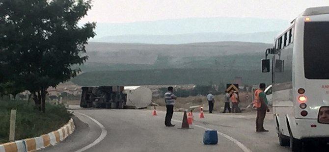 Beypazarı Ayaş Yolunda Trafik kazası 2 Yaralı